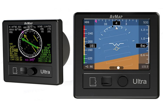 KIT Ultra EFIS & ENGIBOX AVMAP