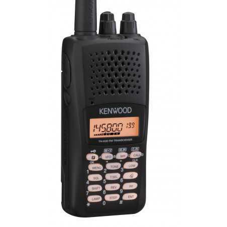Emetteur-récepteur portatif FM VHF, avec clavier