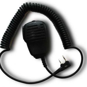 Micro déporté Spyder pour radio de parapente