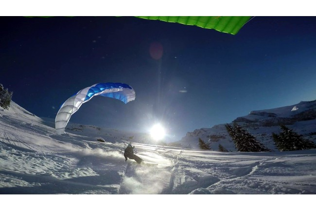 Descent 2 Sky Country voile speedriding ou speedflying