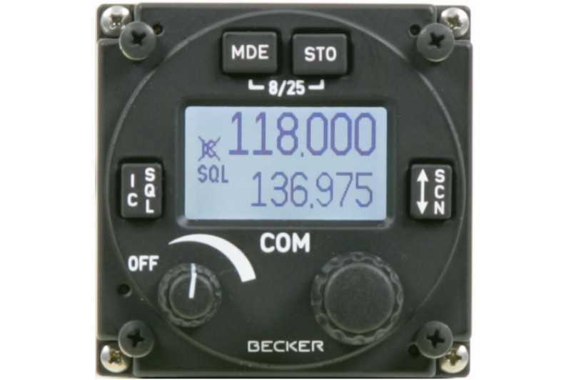 Radio aviation AR 6201 Becker