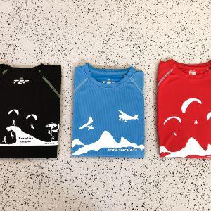 T-shirt technique Parapente et ULM Scorpio