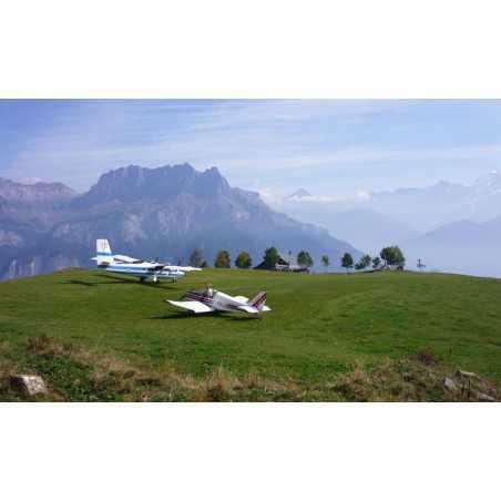 Baptême ULM : Vol au pied du Mont Blanc (2h)