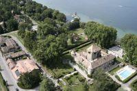 Survol des chateau de Savoie en ULM
