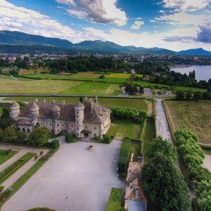 Baptême ULM : La Tournée des châteaux (1h)